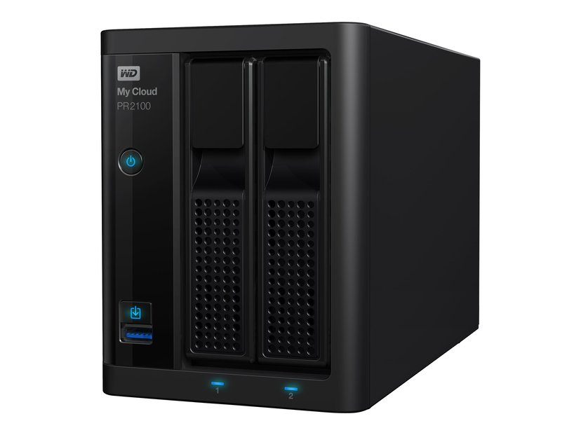WD My Cloud PR2100 0TB NAS-server