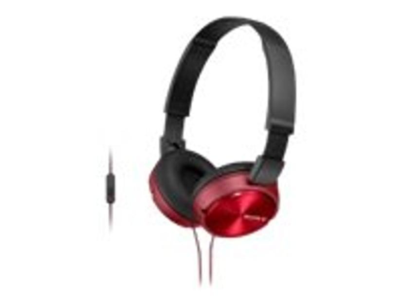 Sony MDR-ZX310AP Rød; Svart