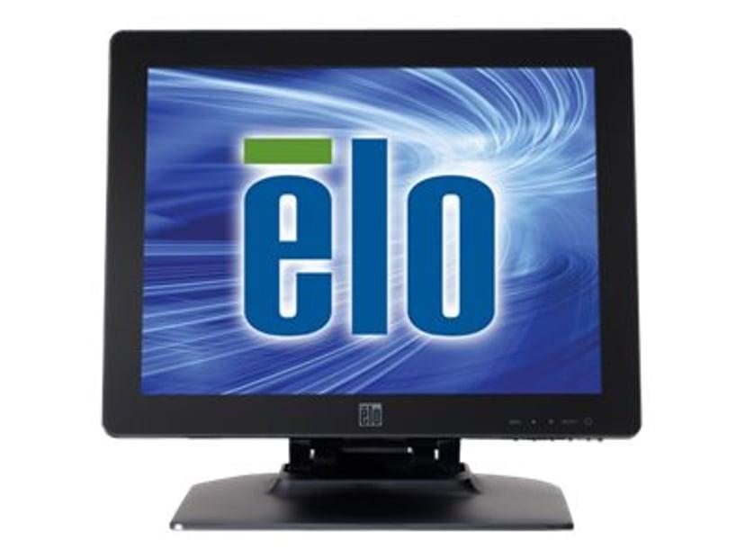 "Elo 1523L 15"" LCD LED Backlight iTtouch VGA/DVI PCAP Svart"