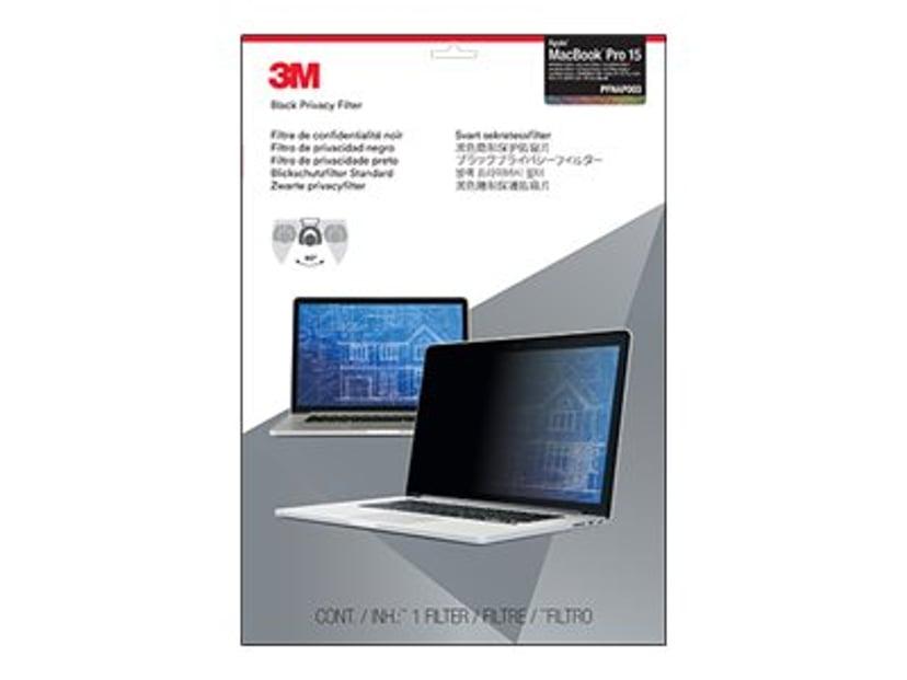 """3M Notebookpersonvernsfilter 15.4"""" 16:10"""