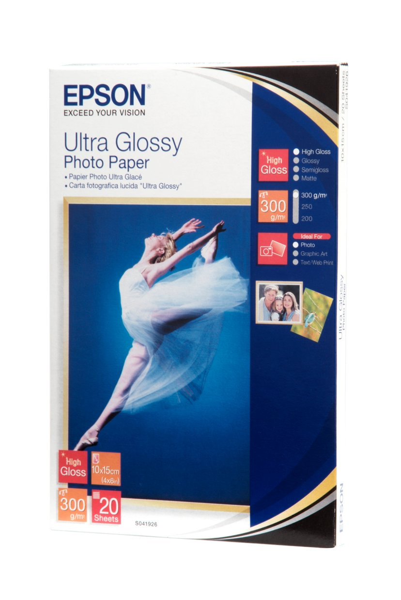 Epson Papir Photo Ultra Glossy 10X15cm 20-Ark 300g