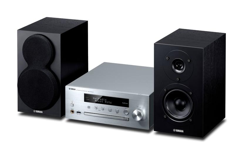 Yamaha MCR-N470D Silver/Black