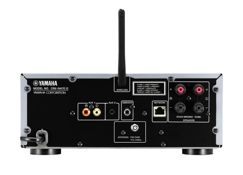 Yamaha MCR-N470D - Svart