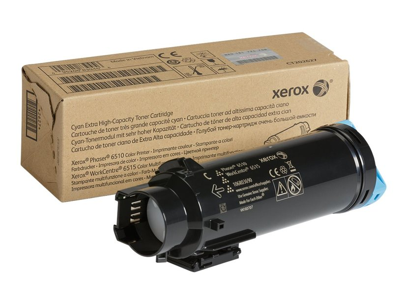Xerox Toner Cyan 4.5k - Phaser 6510/WC6515