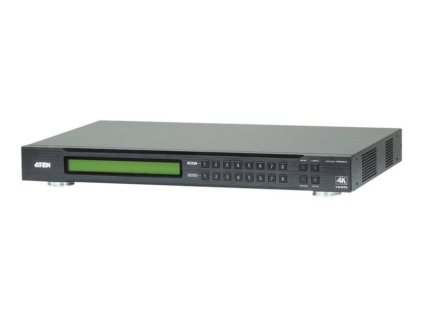 Aten VanCryst 8 x 8 4K HDMI Matrix Switch VM0808HA