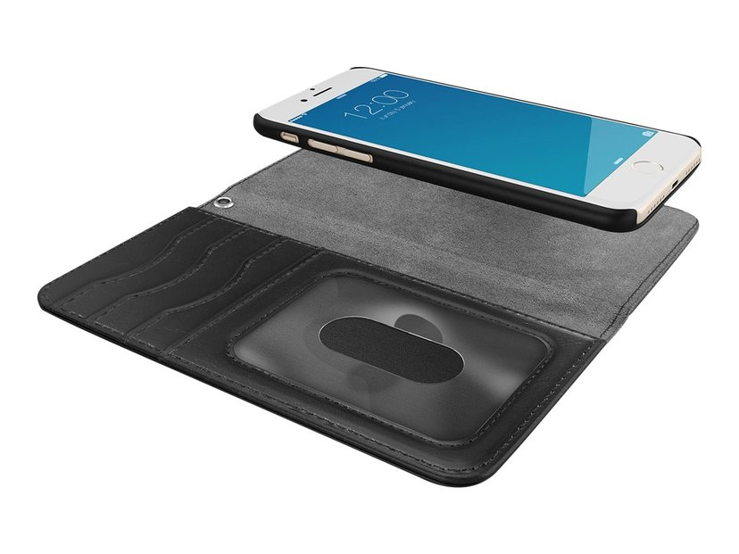 iDeal of Sweden IDEAL Magnet Wallet+ iPhone 6/6s, iPhone 7, iPhone 8, iPhone SE (2020) Zwart