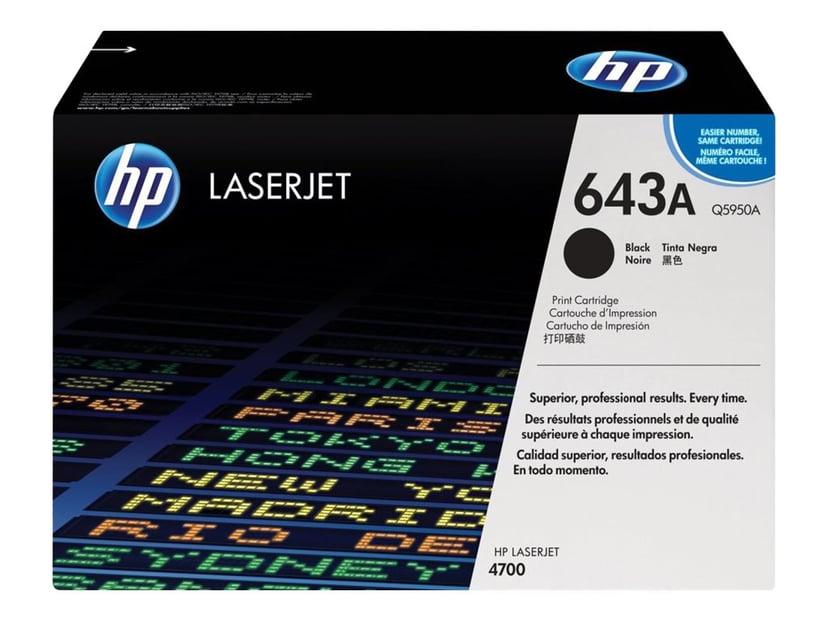 HP Toner Sort 643A 11K - Q5950A