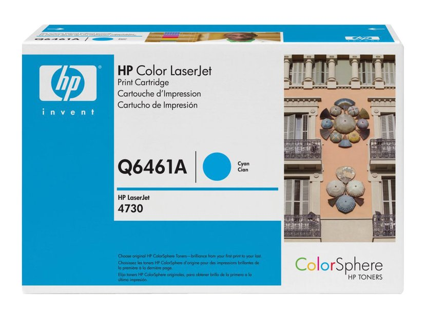 HP Värikasetti Syaani 61A 12K - Q6461A