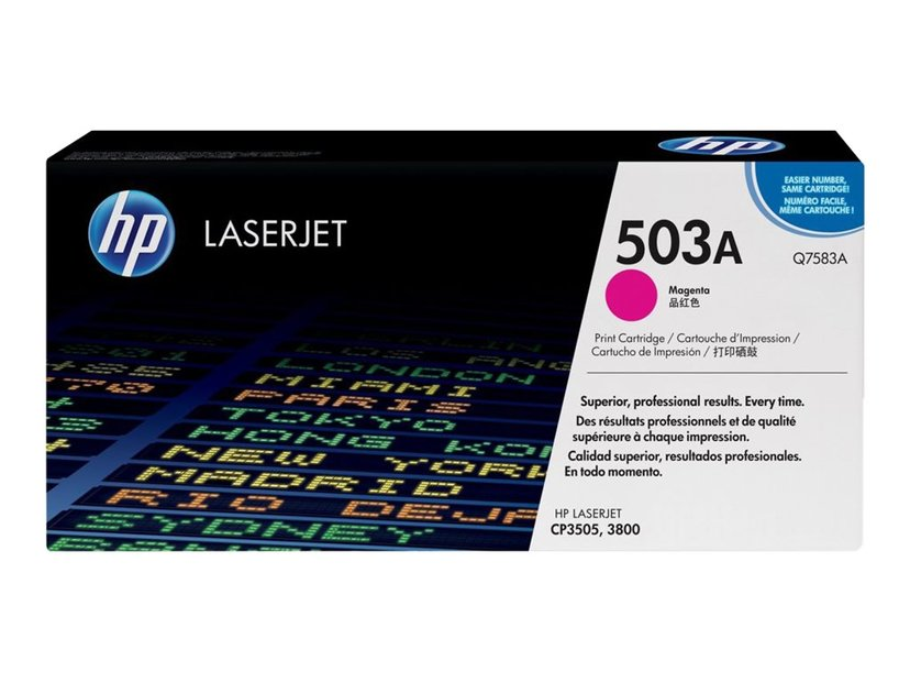 HP Värikasetti Magenta 503A 6K - Q7583A