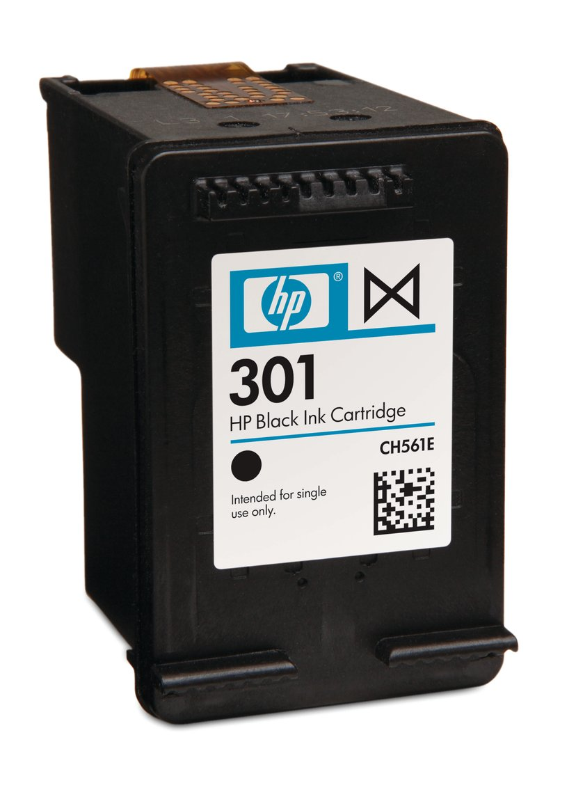 HP Bläck Svart No.301 - DJ 1000