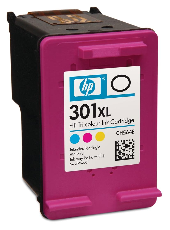 HP Bläck Färg No.301XL - DJ 1000