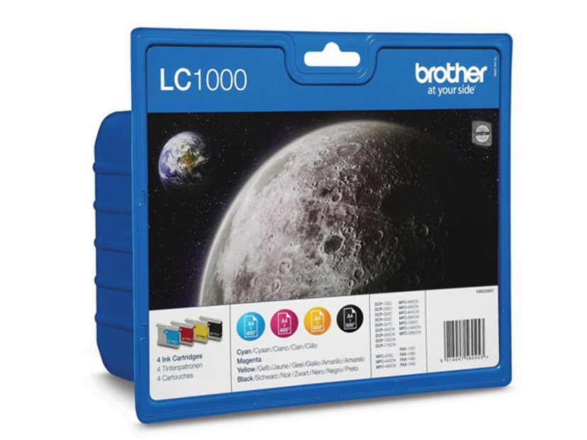 Brother Blæk Kit LC1000 (BK,C,M,Y) - MFC-845CW