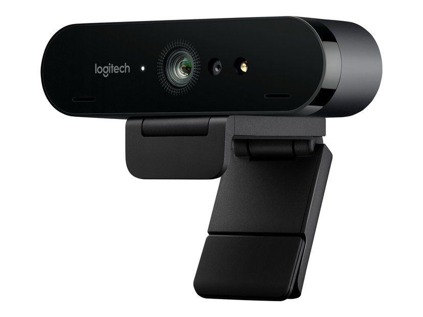 Logitech BRIO 4K Ultra HD Svart Webbkamera 4096 x 2160