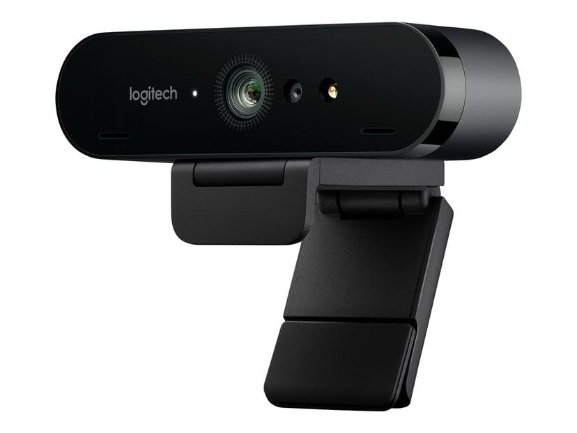 Logitech BRIO 4K Ultra HD-webbkamera Svart