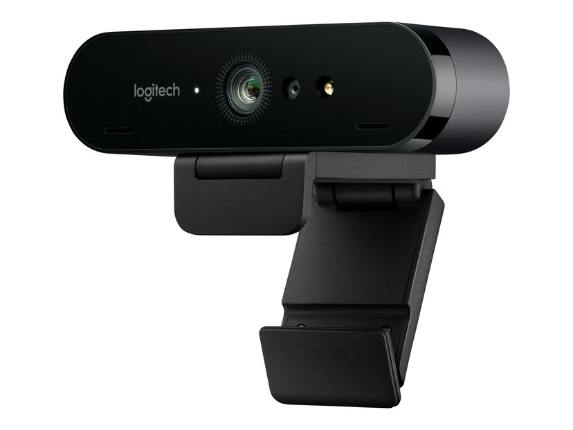 Logitech BRIO 4K Ultra HD 4096 x 2160 Webbkamera Svart