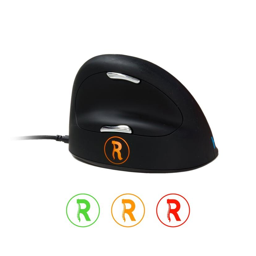 R-Go Tools Break HE Small/Medium Right 2,500dpi Mus Kablet Svart