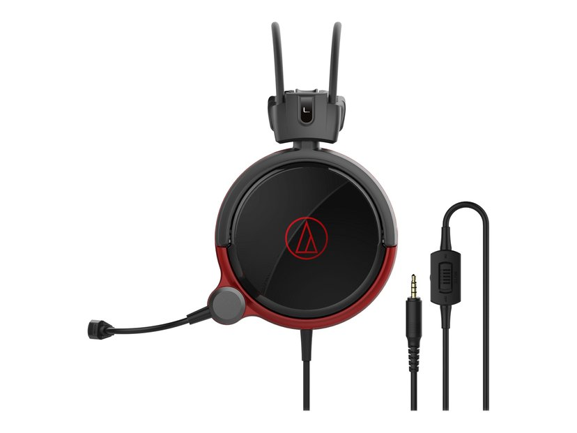 Audio-Technica ATH AG1X Rød, Svart