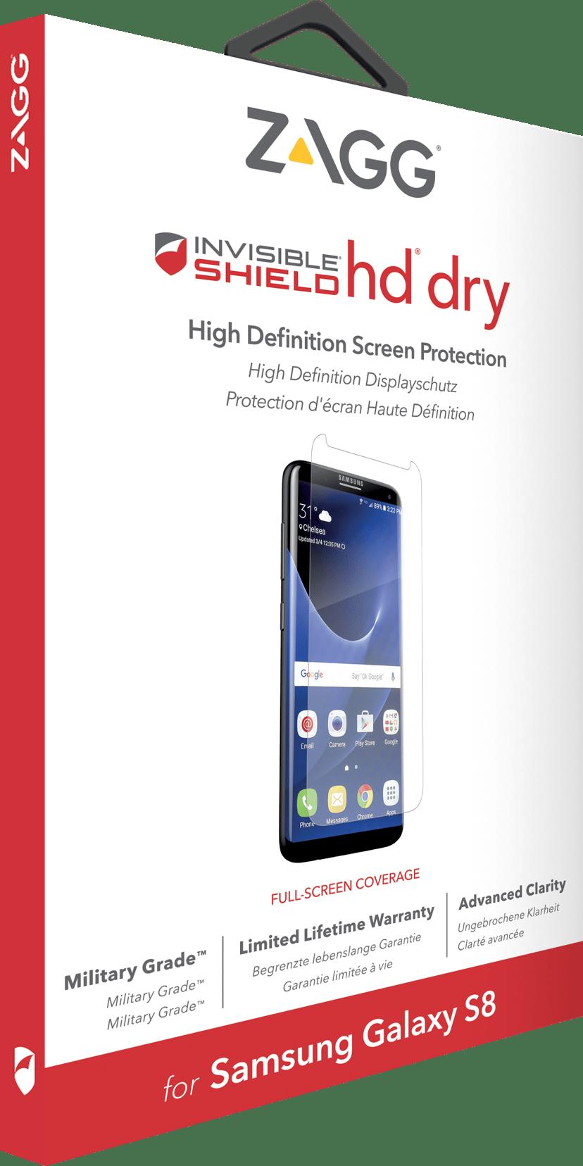 Zagg Invisibleshield HD Dry Screen Samsung Galaxy S8