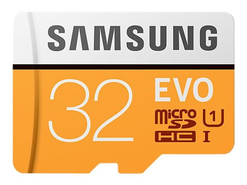 Samsung EVO 32GB microSDHC UHS-I Memory Card