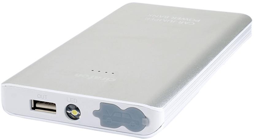 Cirafon Powerbank 5400 mAh 1,800milliampere hour 2A Silver