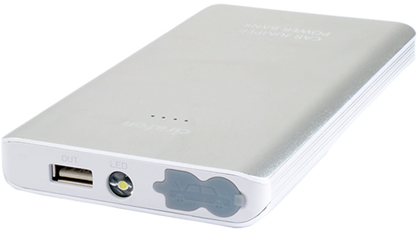 Cirafon Powerbank 5400 mAh 2A 1,800milliampere hour Silver
