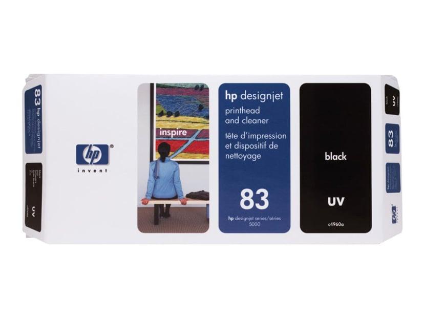 HP Printhead/Cleaner No.83 Svart - DJ5000