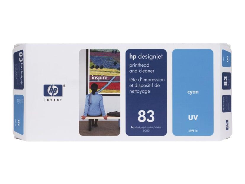 HP Printhead/Cleaner No.83 Cyan - DJ5000