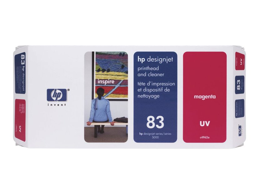 HP Printhead/Cleaner No.83 Magenta - DJ5000