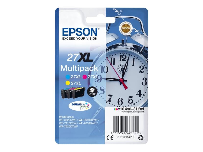 Epson Blæk Multipak 27XL (C/M/Y)