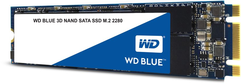 WD Blue 3D NAND 500GB Serial ATA-600 M.2 2280