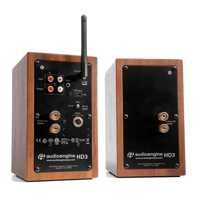 Audioengine HD3 Wireless Speakers Walnut