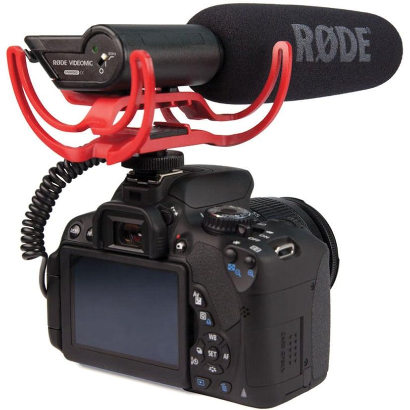 Røde VideoMic with Rycote Lyre Suspension System Sort