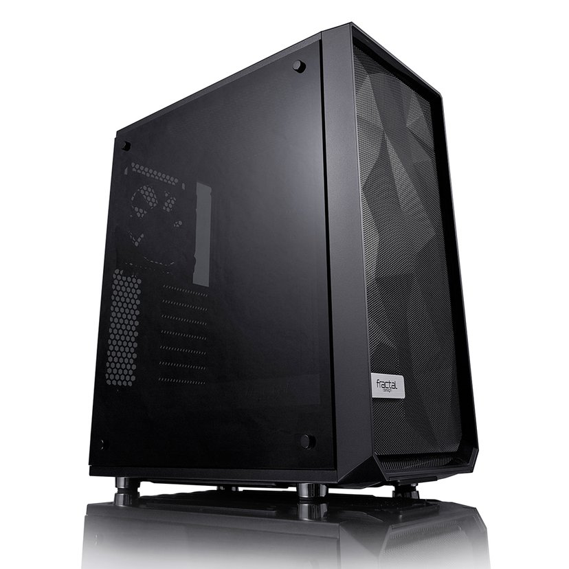 Fractal Design Meshify C Tempered Glass Svart