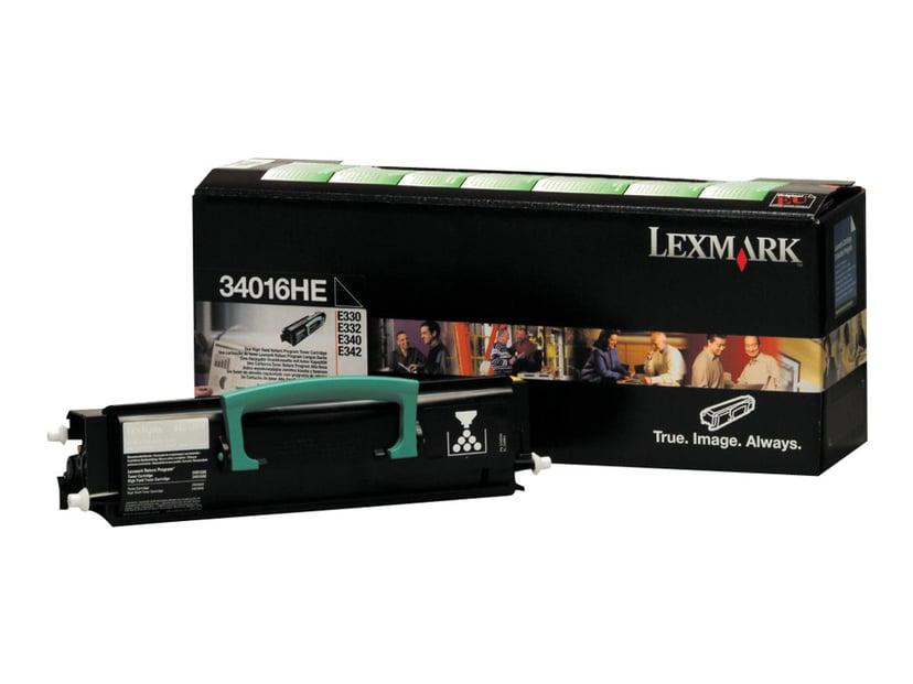 Lexmark Toner Sort 6k E33X/34X Return PROGRAM