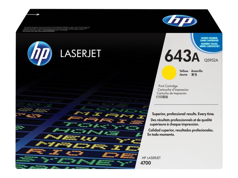 HP Värikasetti Keltainen 643A 11K - Q5952A