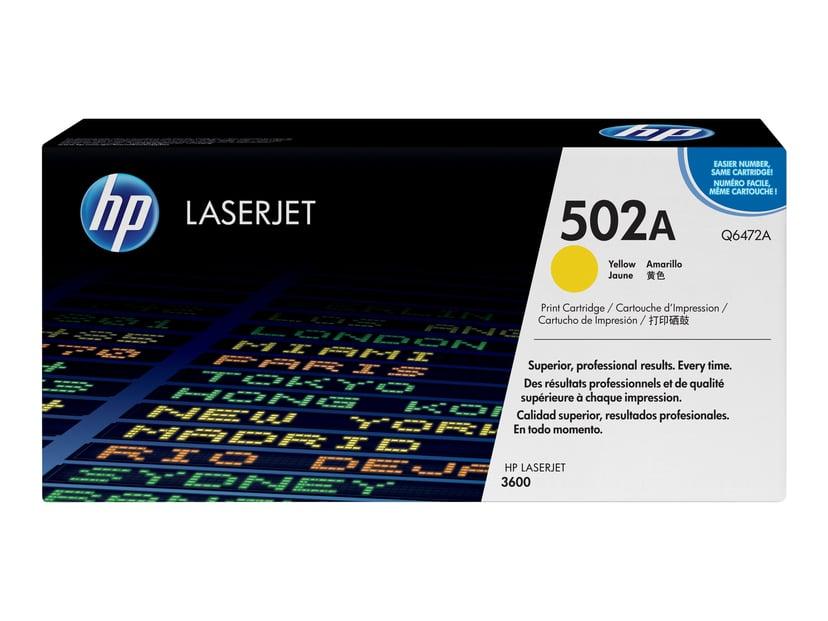 HP Värikasetti Keltainen - Q6472A