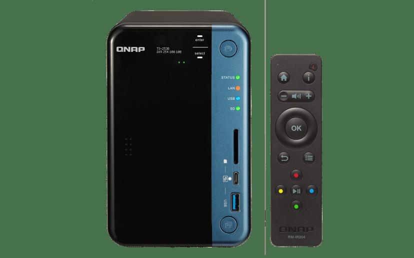 QNAP TS-253B 8GB 0TB NAS-server