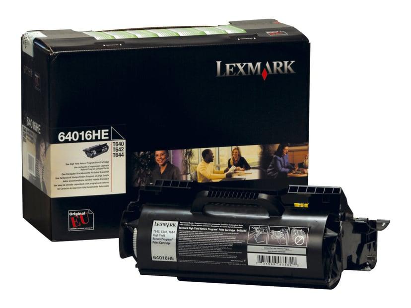 Lexmark Toner Svart 21k - T640 Return