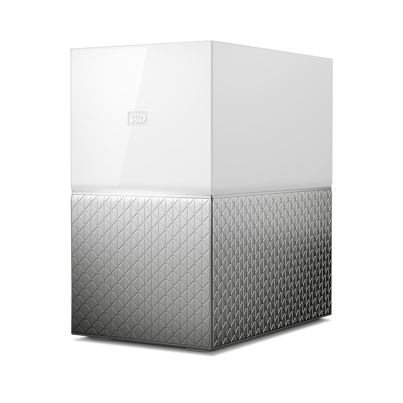 WD My Cloud Home Duo 12TB Personlig skylagringsenhet