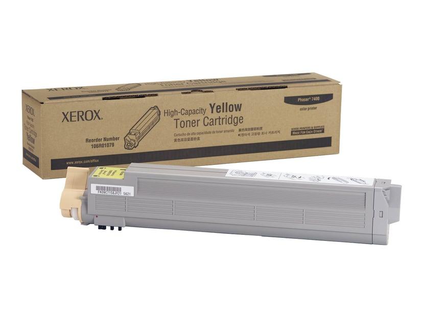 Xerox Värikasetti Keltainen 18k - Phaser 7400