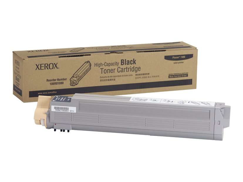 Xerox Toner Svart 18k - Phaser 7400