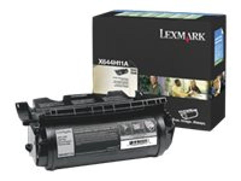 Lexmark Toner Svart 21k - X64XE Return