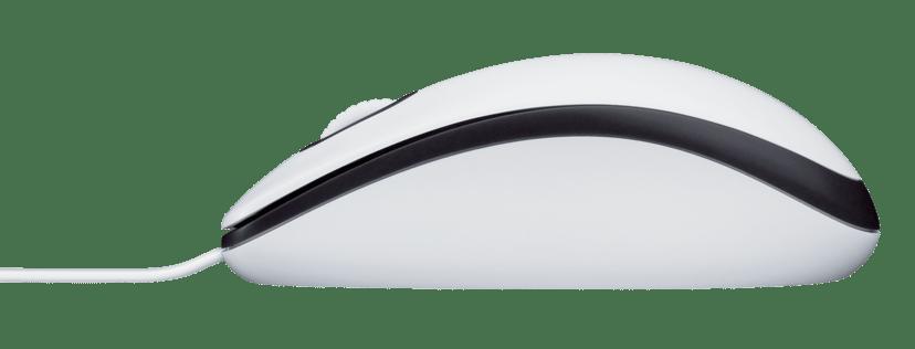 Logitech M100 1,000dpi Mus Kabling Hvid