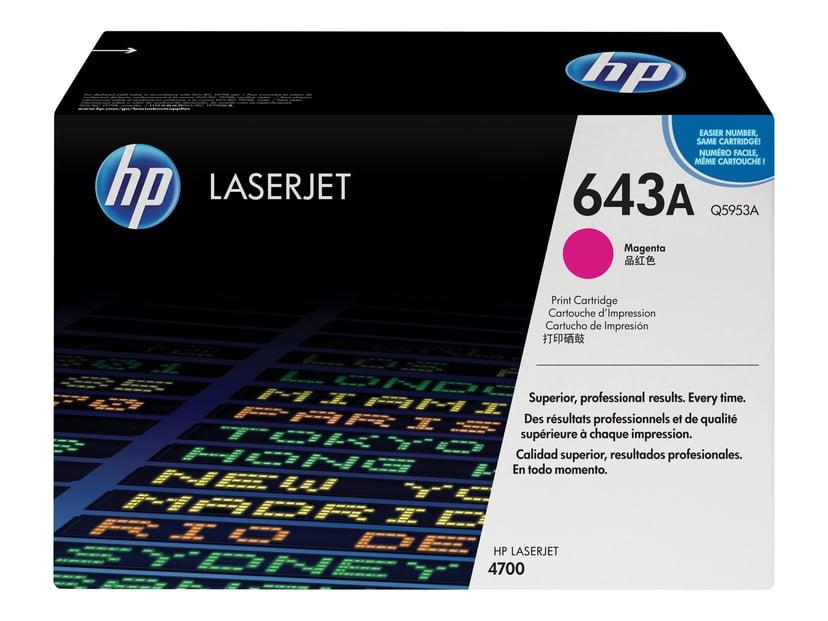 HP Värikasetti Magenta 643A 11K - Q5953A