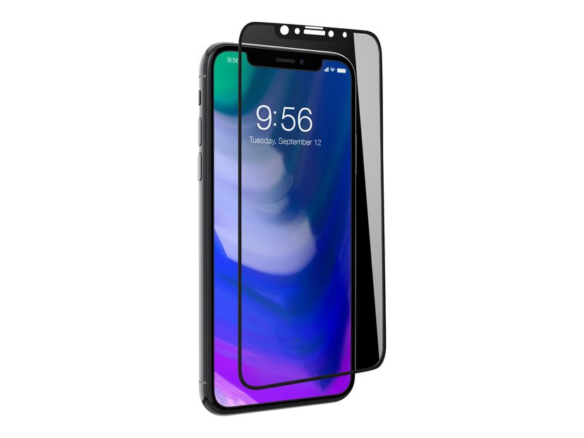 Zagg Invisible Shield Glass Contour Black iPhone X; iPhone Xs
