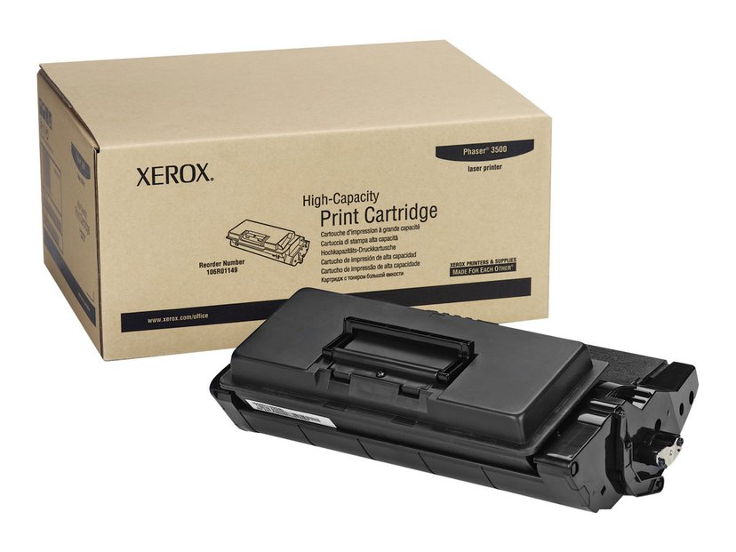 Xerox Toner Svart 12k - Phaser 3500