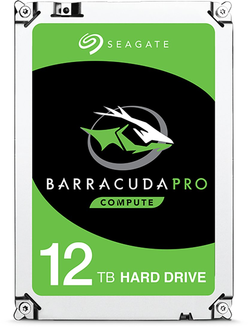 "Seagate BarraCuda Pro 12TB 3.5"" Serial ATA-600"