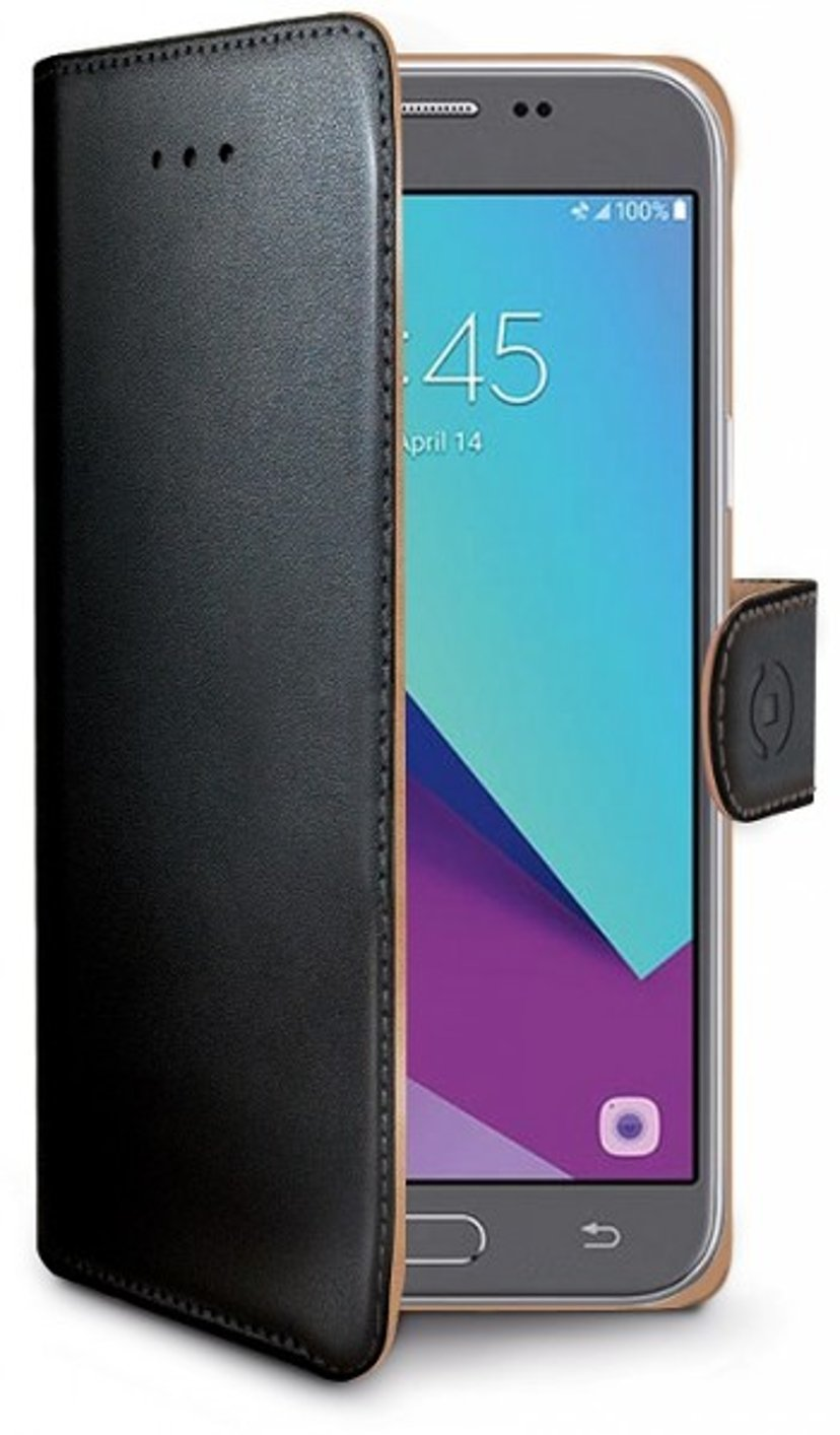 Celly Wally Case For Galaxy J3 2017 Black Musta
