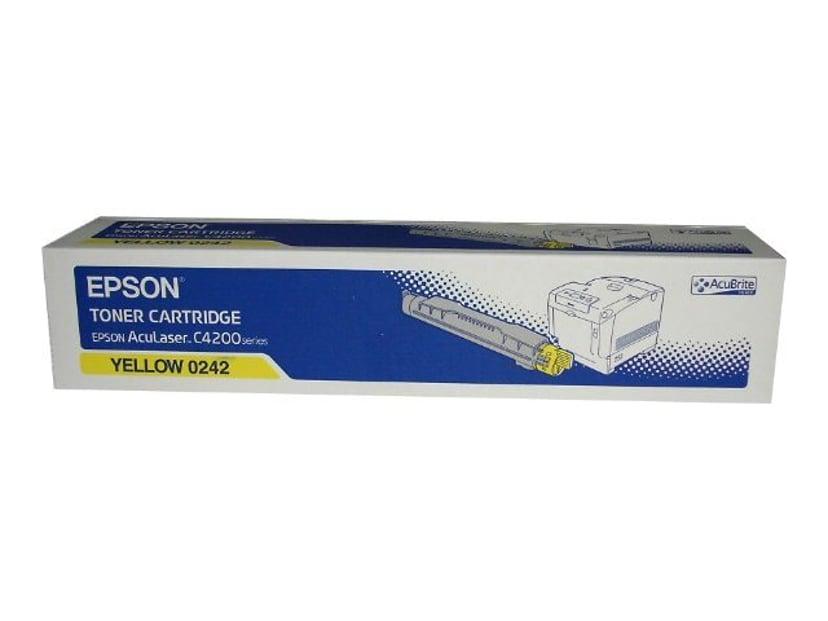 Epson Värikasetti Keltainen 8,5k AL C4200
