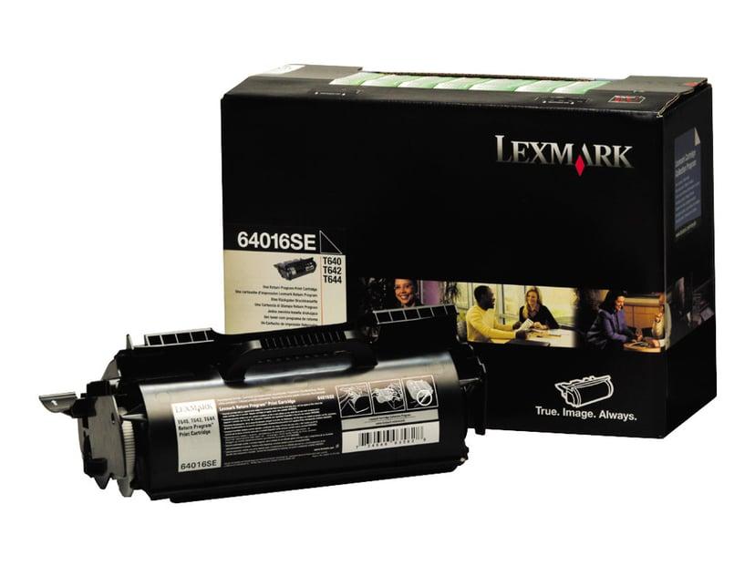 Lexmark Toner Svart 6k - T640 Return